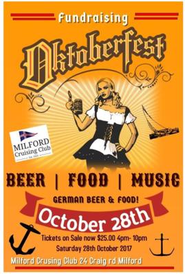 Oktoberfest at Milford Cruising Club