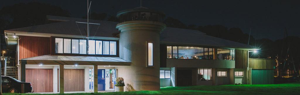 MCC Exterior Venue At Night