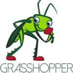Grasshopper Lawns and Gardens Logo