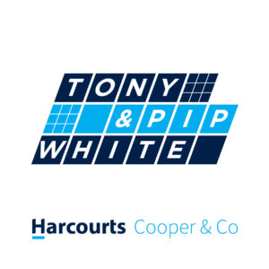 Tony and Pip White Logo